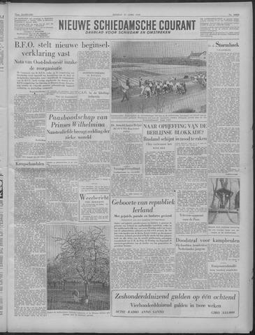 Nieuwe Schiedamsche Courant 1949-04-19