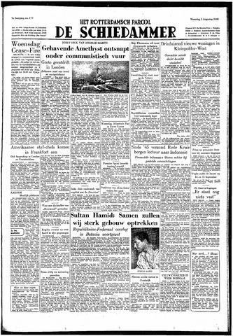 Rotterdamsch Parool / De Schiedammer 1949-08-01