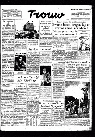 Trouw / De Rotterdammer 1957-07-13