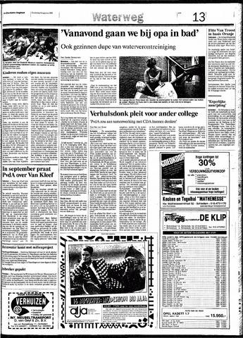 Rotterdamsch Nieuwsblad / Schiedamsche Courant / Rotterdams Dagblad / Waterweg / Algemeen Dagblad 1991-08-08