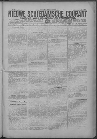 Nieuwe Schiedamsche Courant 1925-02-12