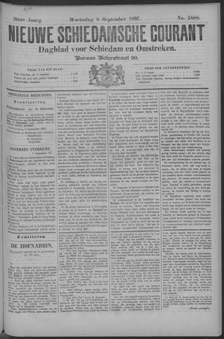 Nieuwe Schiedamsche Courant 1897-09-08