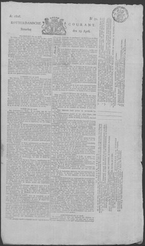 Rotterdamse Courant 1826-04-29