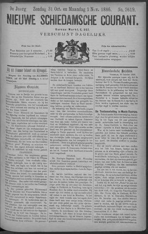 Nieuwe Schiedamsche Courant 1886-11-01
