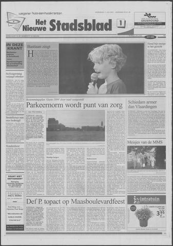 Het Nieuwe Stadsblad 2001-07-11