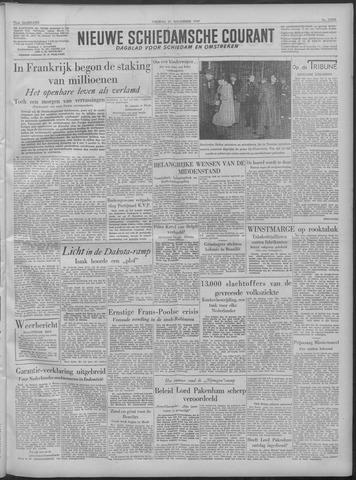 Nieuwe Schiedamsche Courant 1949-11-25