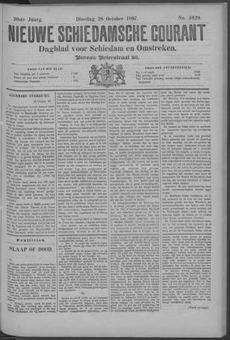 Nieuwe Schiedamsche Courant 1897-10-26