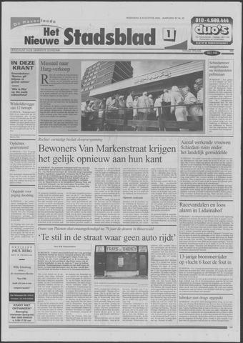 Het Nieuwe Stadsblad 2000-08-09