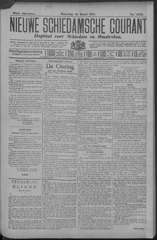 Nieuwe Schiedamsche Courant 1917-03-26