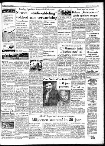 Trouw / De Rotterdammer 1962-07-17