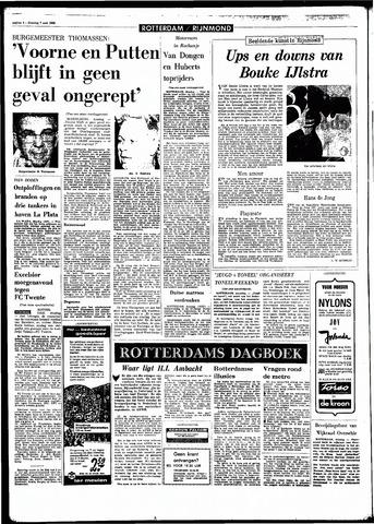 Rotterdamsch Parool / De Schiedammer 1968-05-07