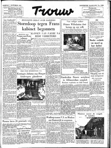 Trouw / De Rotterdammer 1955-10-07