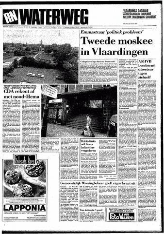 Rotterdamsch Nieuwsblad / Schiedamsche Courant / Rotterdams Dagblad / Waterweg / Algemeen Dagblad 1987-06-26