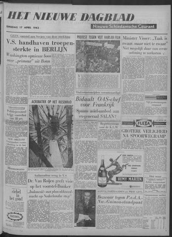 Nieuwe Schiedamsche Courant 1962-04-17