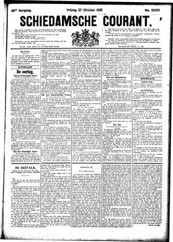 Schiedamsche Courant 1916-10-27