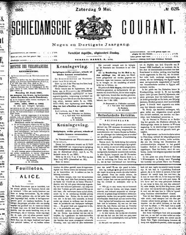 Schiedamsche Courant 1885-05-09