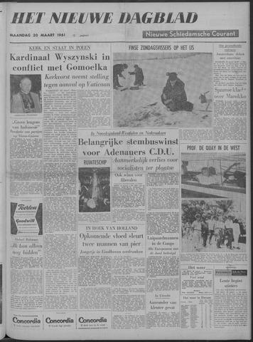 Nieuwe Schiedamsche Courant 1961-03-20