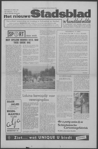 Het Nieuwe Stadsblad 1964-04-22