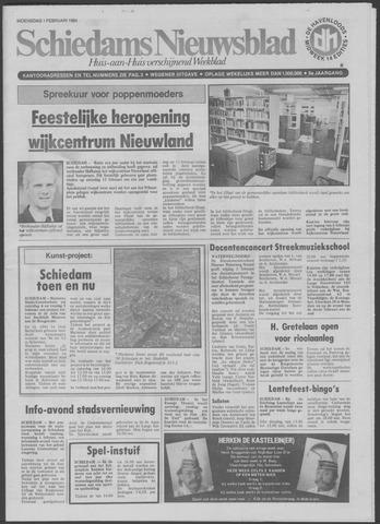 Schiedams Nieuwsblad 1984-02-01