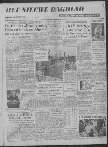 Nieuwe Schiedamsche Courant 1961-10-03