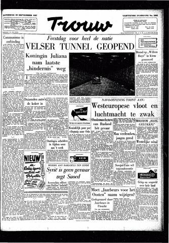Trouw / De Rotterdammer 1957-09-28