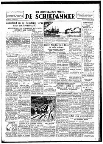 Rotterdamsch Parool / De Schiedammer 1947-07-31
