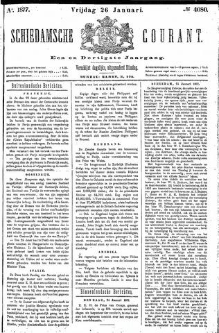 Schiedamsche Courant 1877-01-26