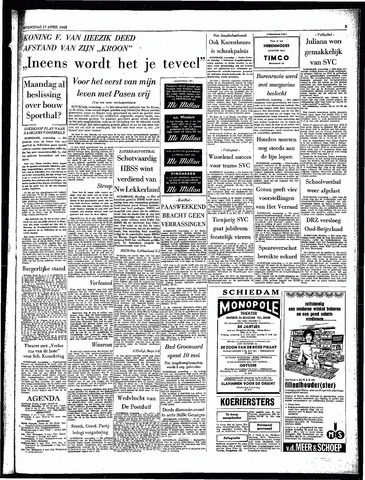 Rotterdamsch Parool / De Schiedammer 1963-04-17