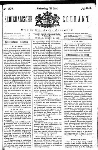 Schiedamsche Courant 1879-05-31