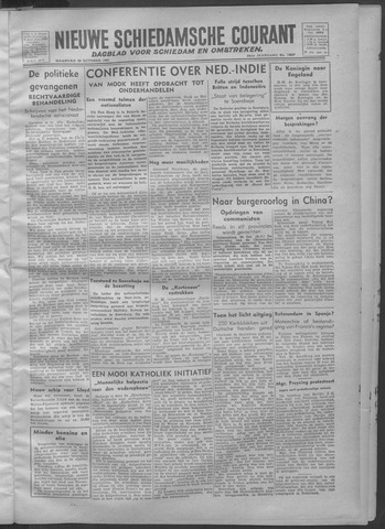 Nieuwe Schiedamsche Courant 1945-10-29