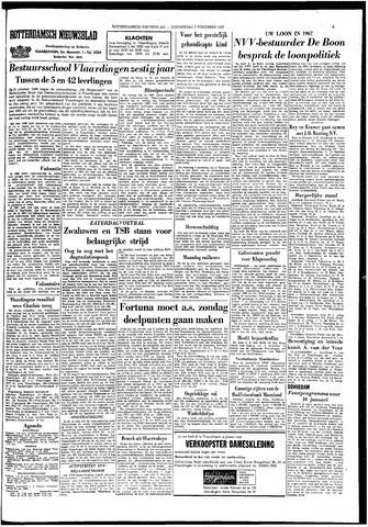 Rotterdamsch Nieuwsblad / Schiedamsche Courant / Rotterdams Dagblad / Waterweg / Algemeen Dagblad 1966-11-03