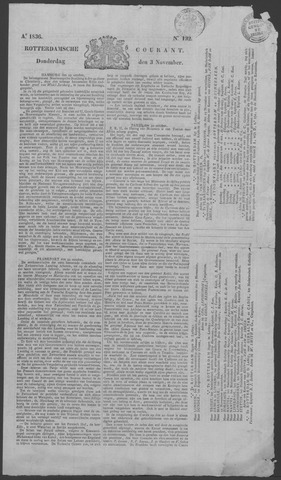 Rotterdamse Courant 1836-11-03