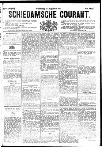 Schiedamsche Courant 1912-08-14