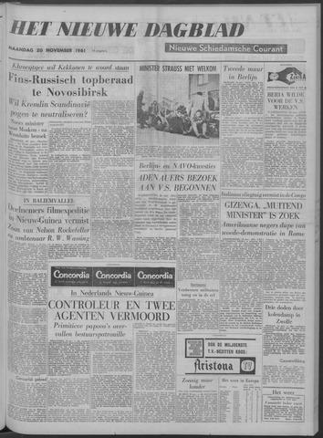 Nieuwe Schiedamsche Courant 1961-11-20