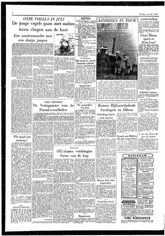 Rotterdamsch Parool / De Schiedammer 1955-07-12