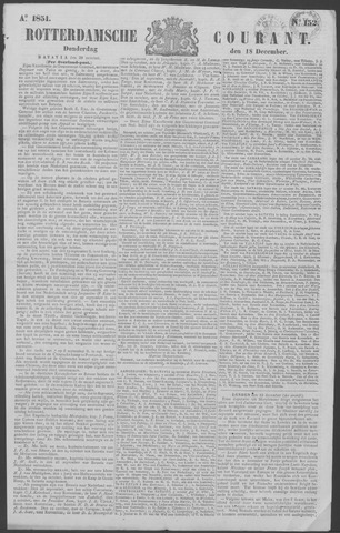 Rotterdamse Courant 1851-12-18