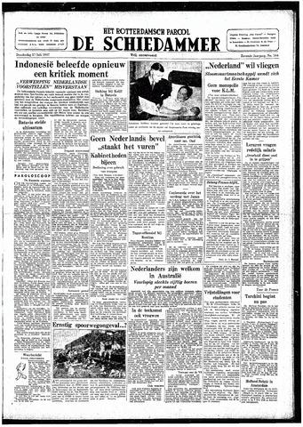 Rotterdamsch Parool / De Schiedammer 1947-07-17