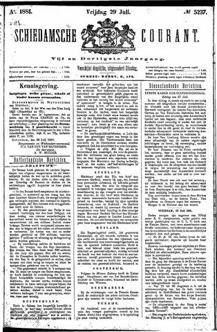 Schiedamsche Courant 1881-07-29