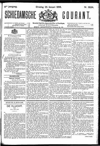 Schiedamsche Courant 1898-01-25