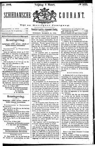 Schiedamsche Courant 1881-03-04