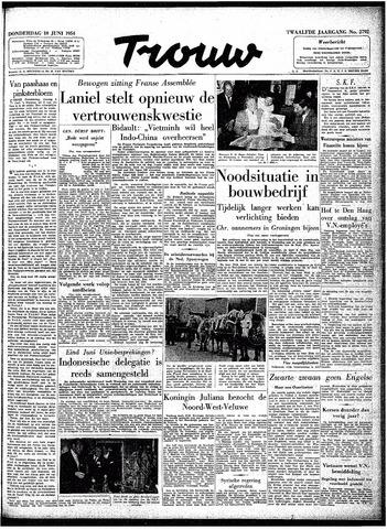 Trouw / De Rotterdammer 1954-06-10
