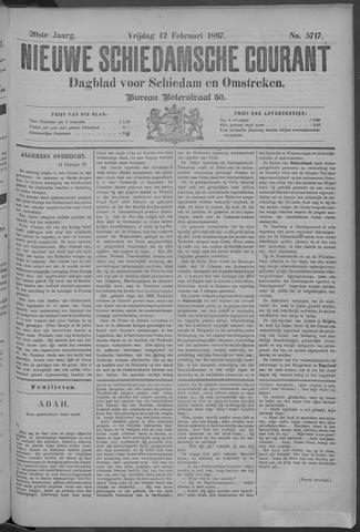 Nieuwe Schiedamsche Courant 1897-02-12