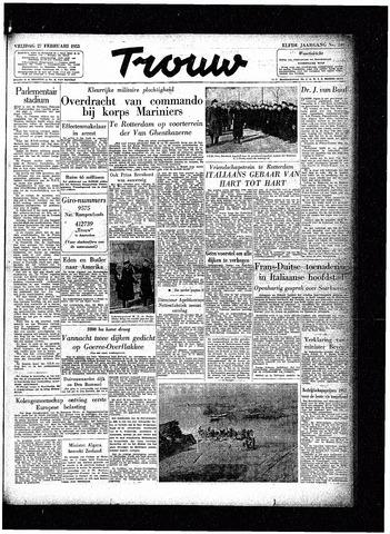 Trouw / De Rotterdammer 1953-02-27