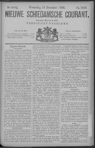 Nieuwe Schiedamsche Courant 1886-12-15