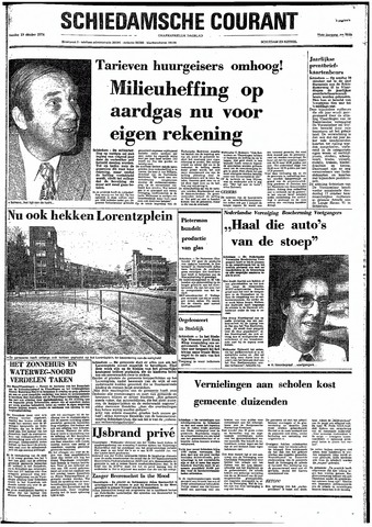 Rotterdamsch Nieuwsblad / Schiedamsche Courant / Rotterdams Dagblad / Waterweg / Algemeen Dagblad 1974-10-19