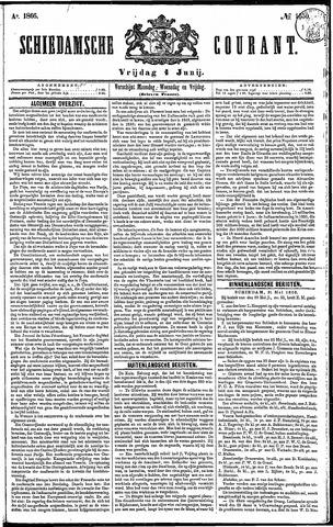 Schiedamsche Courant 1866-06-01