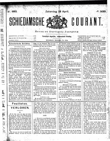 Schiedamsche Courant 1883-04-28