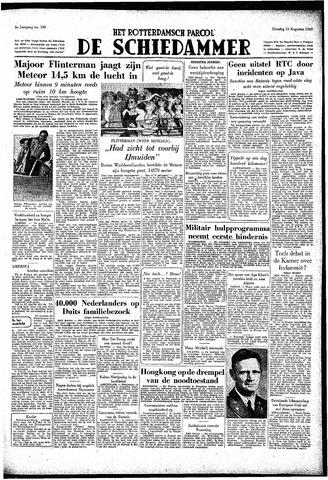 Rotterdamsch Parool / De Schiedammer 1949-08-16