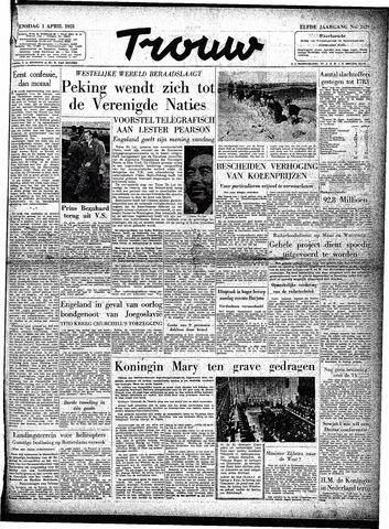 Trouw / De Rotterdammer 1953-04-01