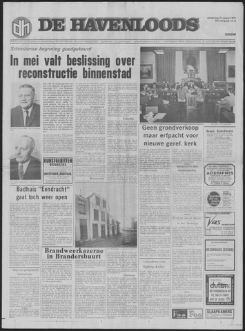 De Havenloods 1971-01-21